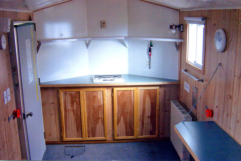 Upper red lake alpine fish house rentals sleepers for Ice fishing house parts