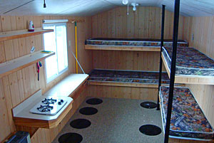 Upper Red Lake Alpine Fish House Rentals Sleepers